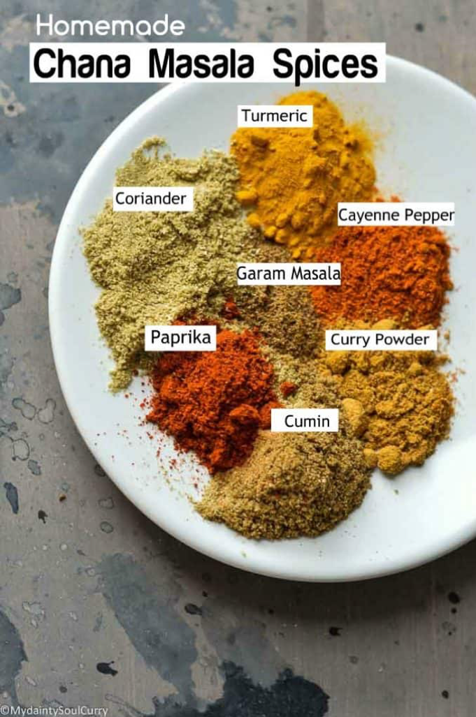 Kali Chana spices